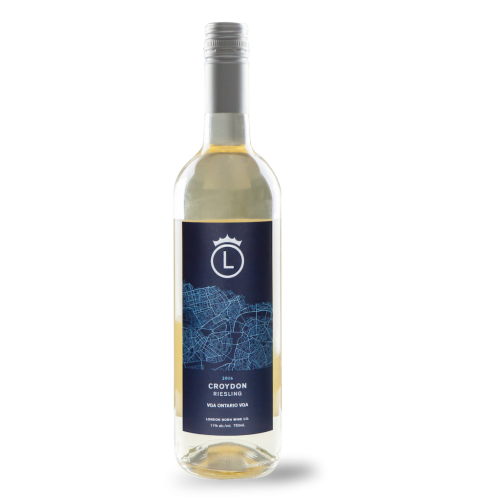Croydon Riesling White Wine Bottle
